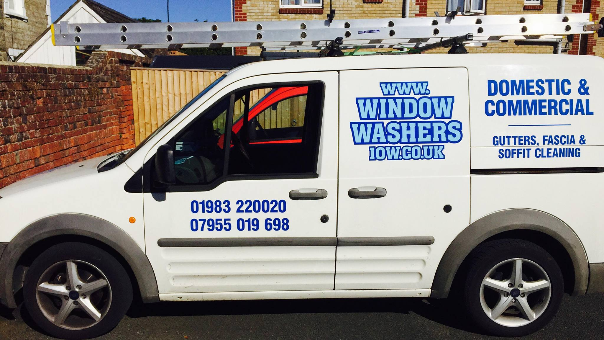 Fully Fitted Isle of Wight Window Cleaning Van