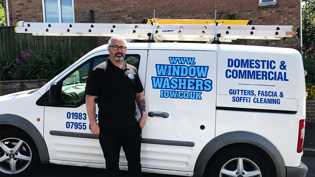 Tim - Our in-house Isle of Wight Window Cleaner and Co-Owner